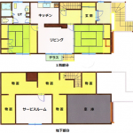 2SLDK(延床面積 163.96㎡)(間取)